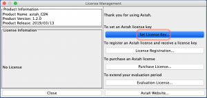 Astah GSN License Setup