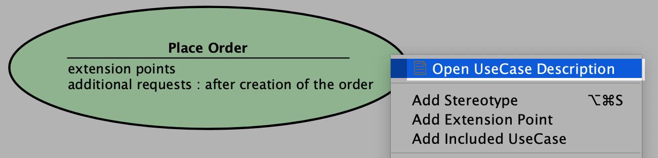Open UseCase Description