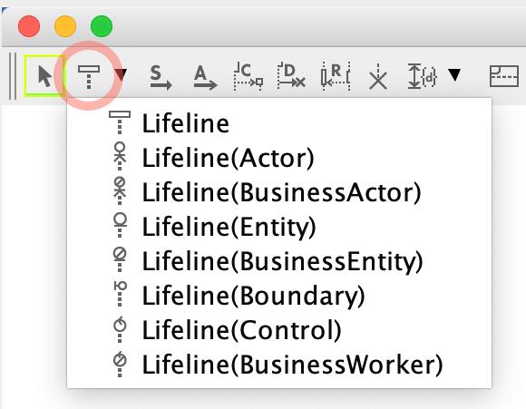 UML Sequence Diagram Lifeline