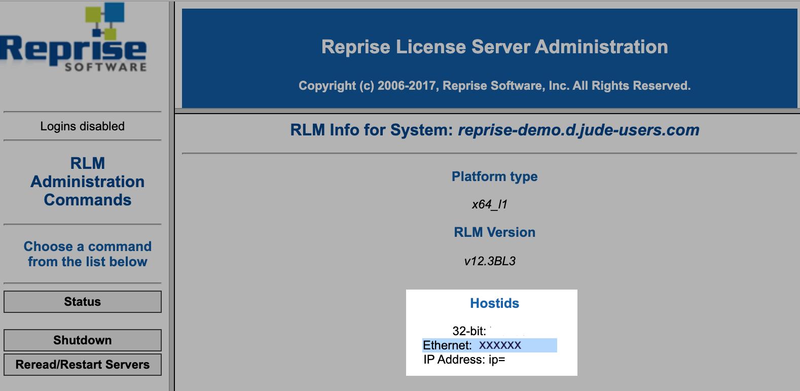 Host ID