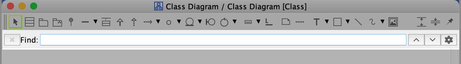 Diagram Search Bar