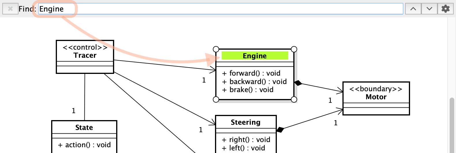 Diagram Search Sample