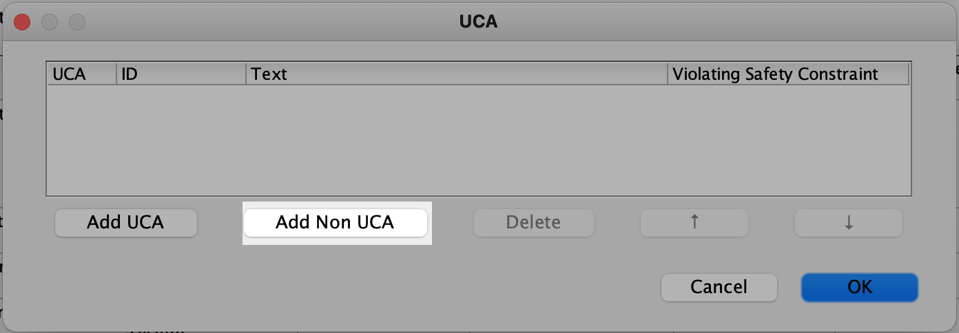Identify as Non-UCA