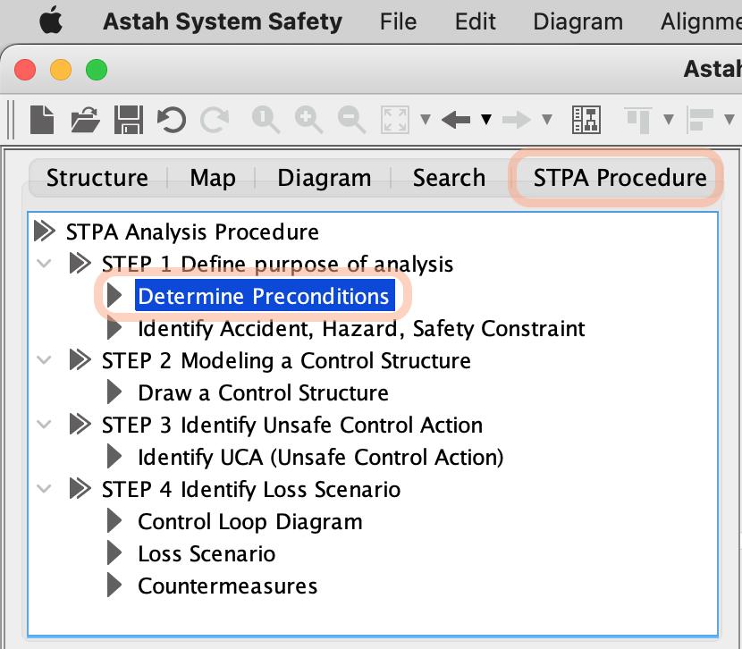 Create Precondition Table