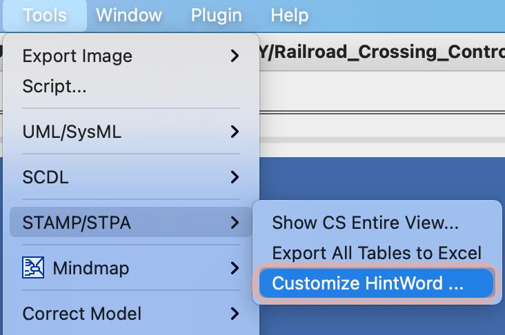 Customize HintWords