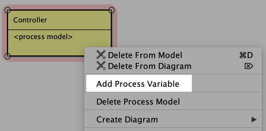 Add process variable